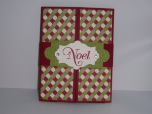Gift Card holder closed