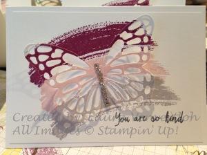 Butterfly note 2
