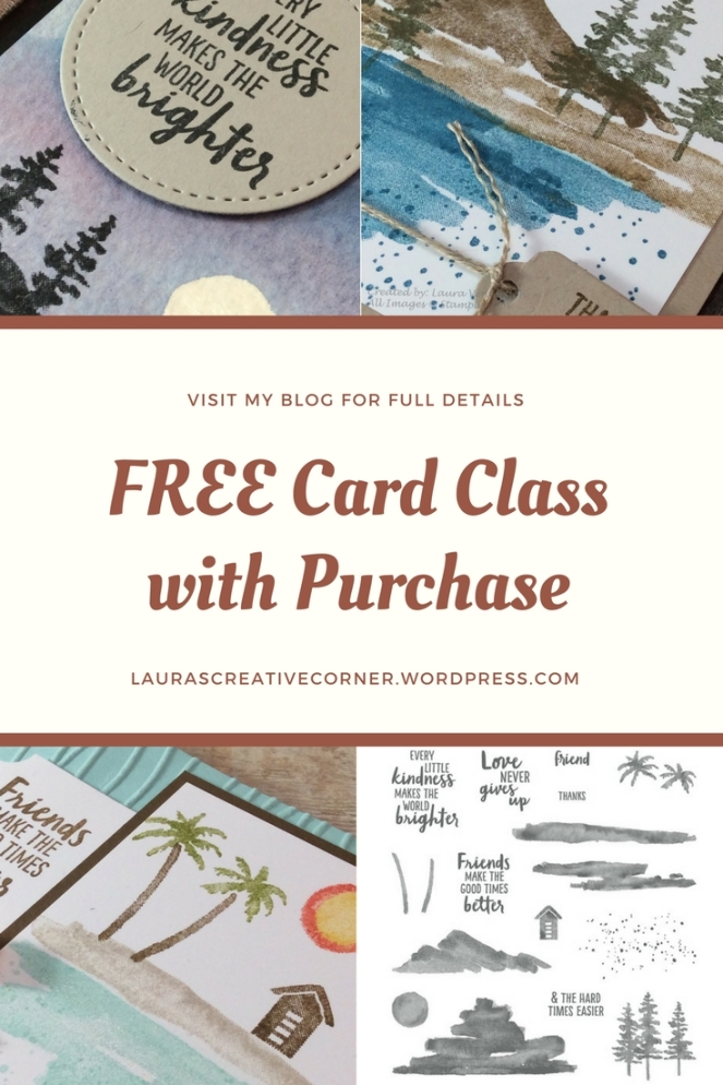 FREE Card Class with Purchase Feb 2018
