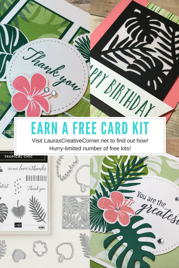 Aug 2018 FREE Card Kit